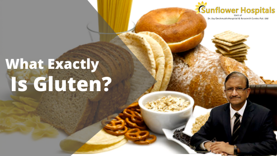 What exactly is gluten?   Dr Jay Deshmukh
