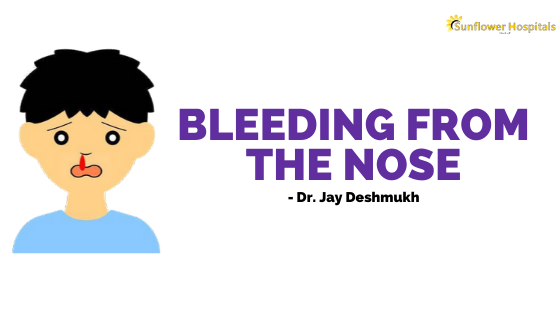 Bleeding from the nose | Dr. Jay Deshmukh